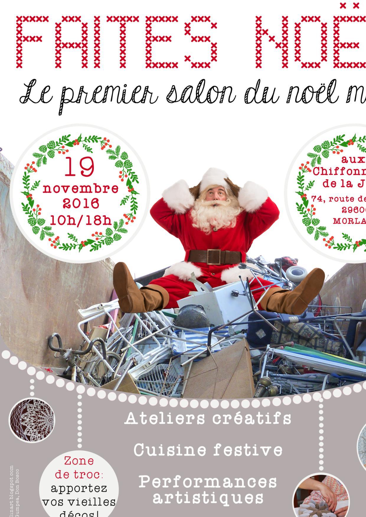 idée sortie noel L'idée sortie : « Faites Noël ! » à Morlaix   Eco Bretons idée sortie noel