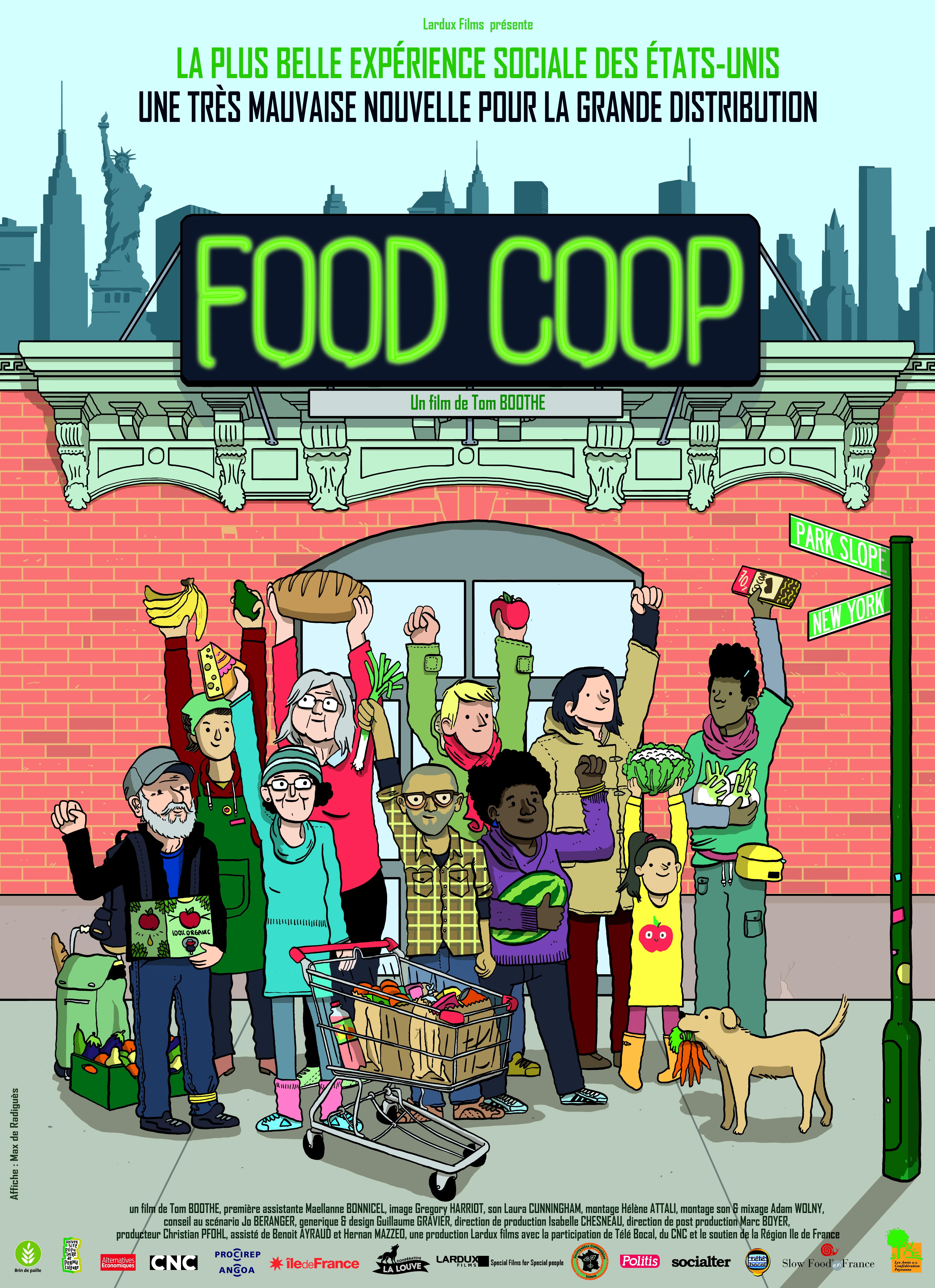 Cinq soirées autour du film Food Coop dans le Kreiz Breizh