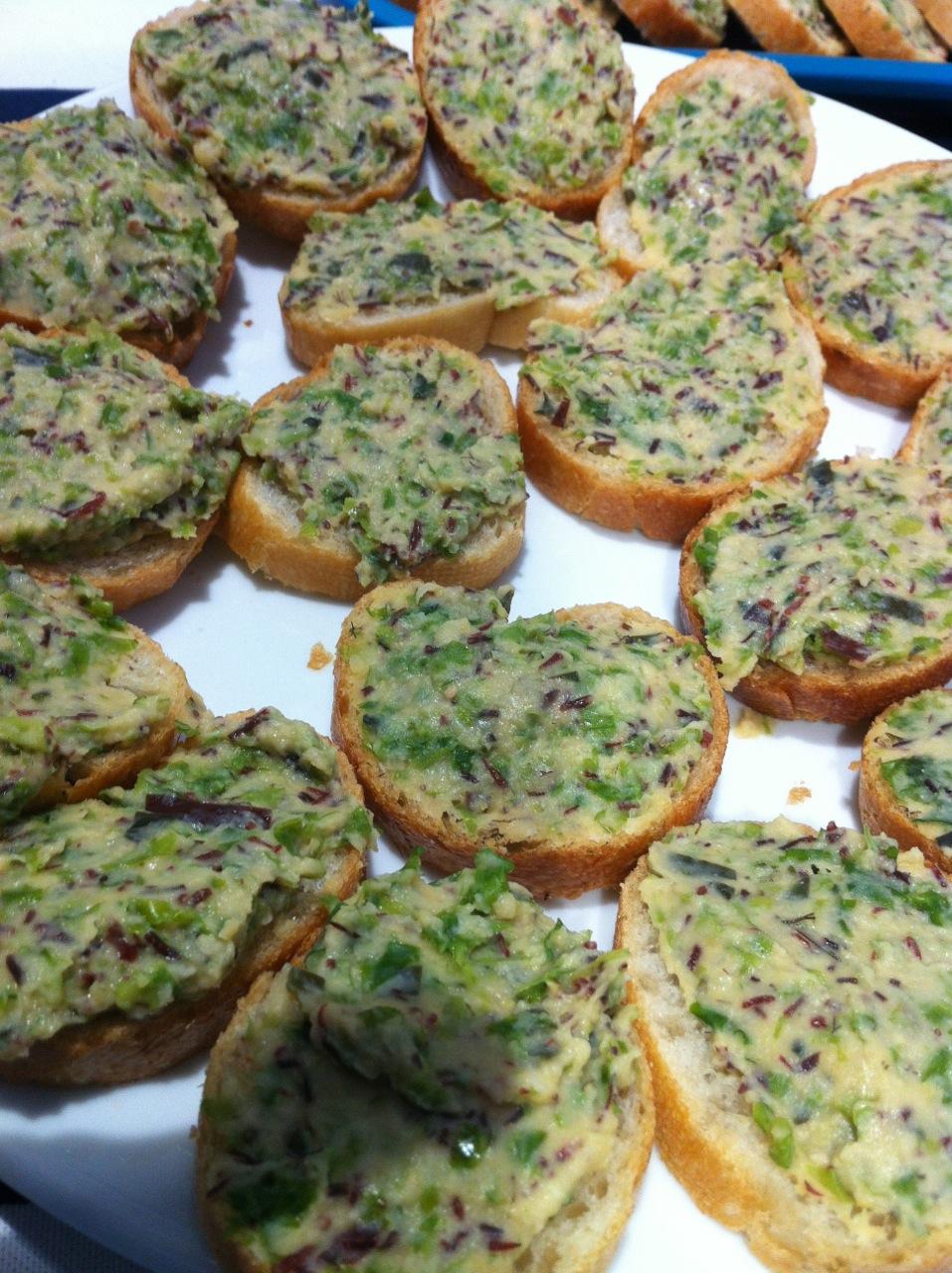 La recette : houmous aux algues
