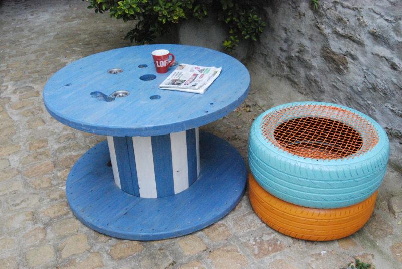 DIY: Un classique, la table basse en touret