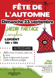 Fête de l'automne au jardin partagé de Liorzhoù à Lorient @ Rue Madeline Desroseaux