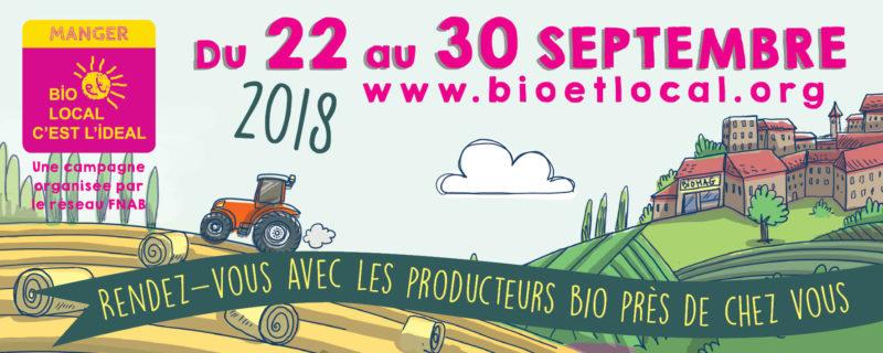 En finistère et Morbihan, participez à l'opération «Manger bio et local, c'est l'idéal!