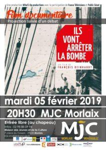 Morlaix, ILS VONT ARRÊTER LA BOMBE - Cinéma Documentaire @ MJC de Morlaix