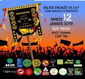 Brest, Cinquième marche pour le climat @  Z.A. du Vern