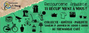 Ressourcerie Ambulante : Collecte à Trémargat ! @ Tremargad Kafe Lieu Associatif