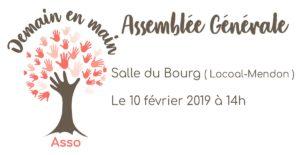 Locoal-Mendon (56), AG de Demain en main @ Salle du Bourg