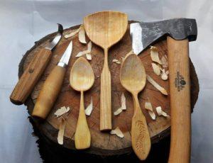 Pleumeur-Bodou, Stage «Sculpter ses cuillères en bois» @ EcoCentre Trégor