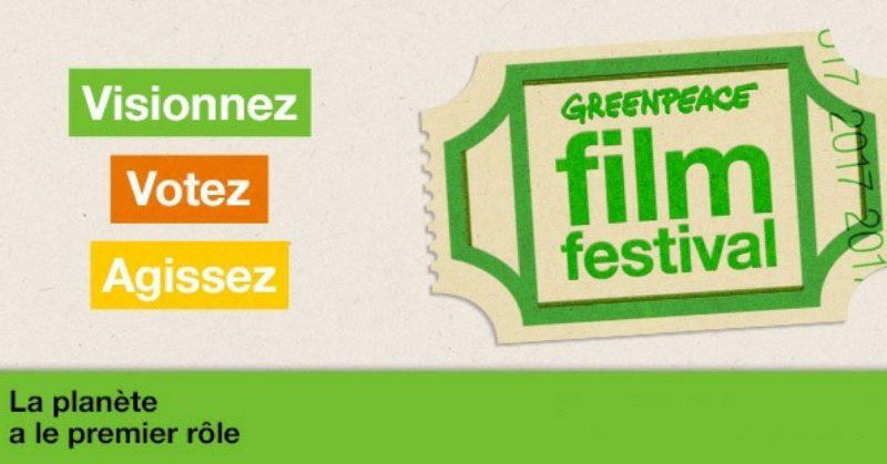 Votez pour votre documentaire préféré avec le Greenpeace Film Festival!
