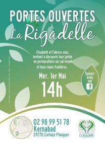 Carhaix, Portes Ouvertes à La RIGADELLE Ferme en Permaculture @  La Rigadelle ferme en Permaculture