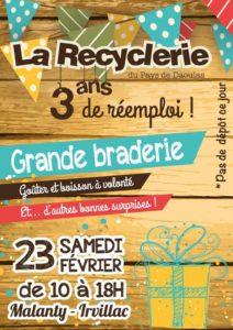 Irvillac, Les 3 ans de la Recyclerie Ribine pays de Daoulas @ Recyclerie Ribine pays de Daoulas