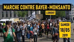 Lorient, Marche contre Bayer-Monsanto @ Place de l'Hôtel de Ville