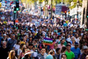 Saint-Brieuc, Marche pour le climat / Carnaval Climatik'