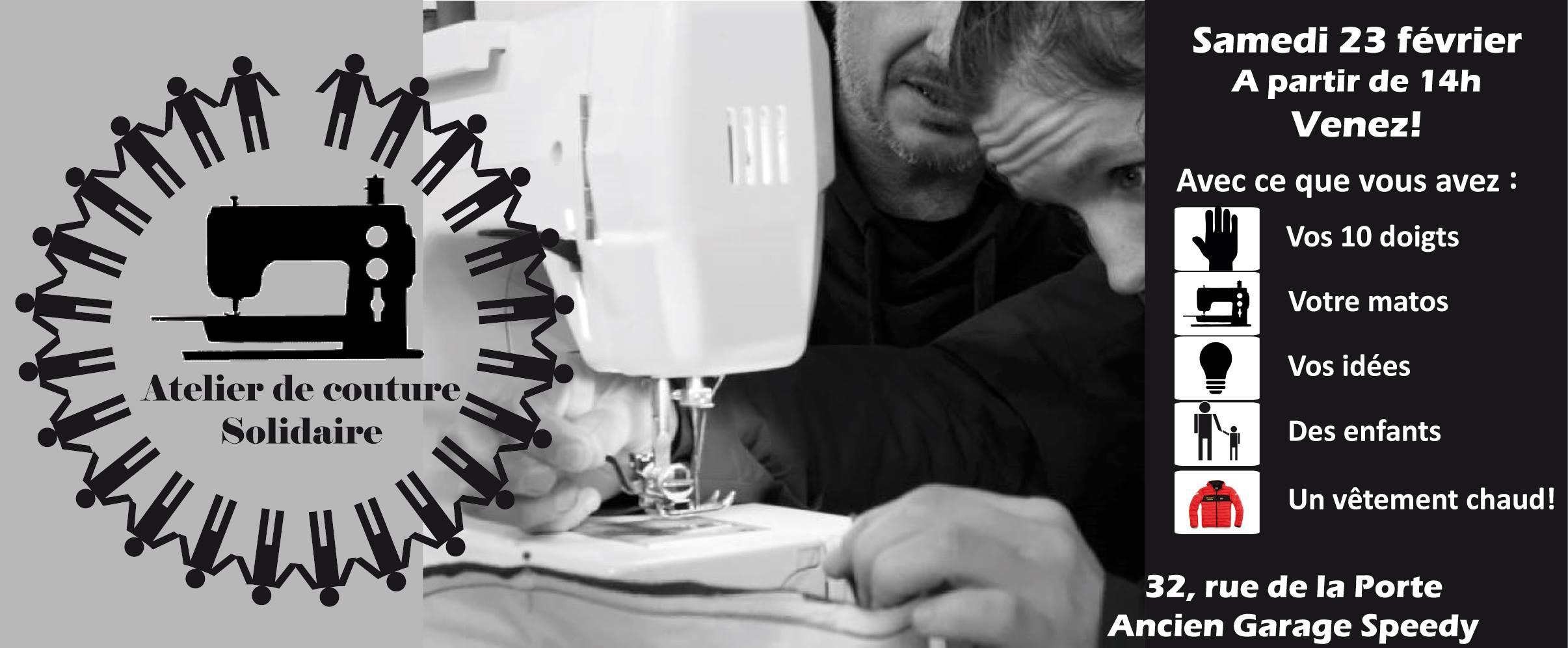 Brest, Atelier de couture solidaire