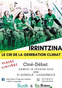 Ciné-Débat // Projection Irrintzina // 29670 Locquénolé @ Ti Guénolé