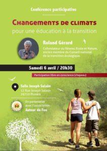 Plonéis (29), Changement de climats, conférence participative @ Salle communale polyvalente