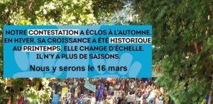 Quimper (29), Pour un printemps climatique et social @ Place Saint-Corentin