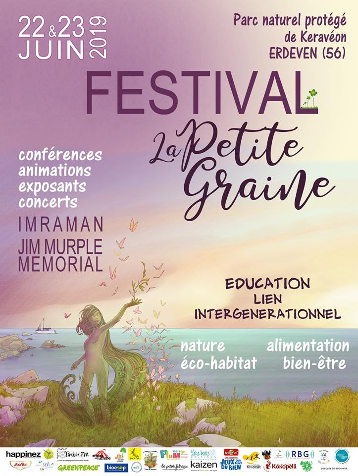 Erdeven (56), Festival La petite graine