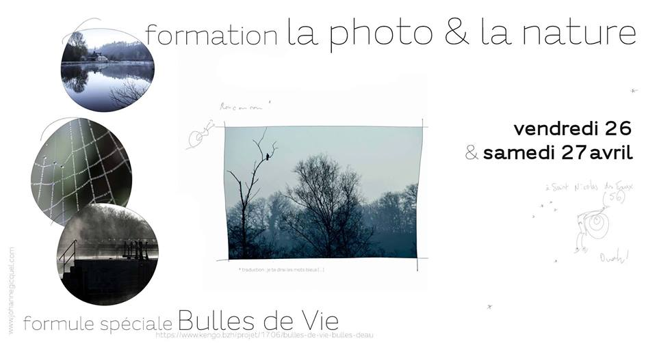 Pluméliau (56), Photo & nature – Formation édition Bulles de Vie