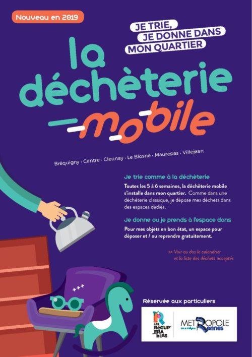Une déchetterie mobile à Rennes!