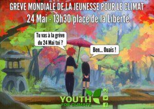 Brest (29), Grève mondiale pour le climat @ Place de la Liberté, Brest