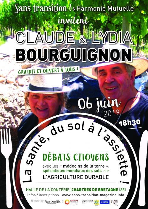 Chartres de Bretagne (35), Claude et Lydia Bourguignon en conférence : «Le sol peut retrouver sa fertilité !»