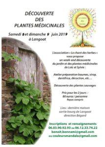Langoat (22), Découverte des plantes médicinales