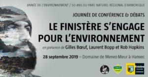 Hanvec (29), Le Finistère s'engage pour l'environnement - Conférence @ Domaine de Menez Meur