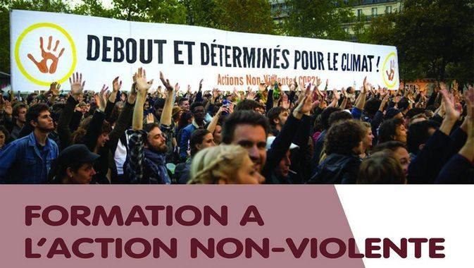Riantec (56), Formation à l'action Non Violente et à la désobéissance civile