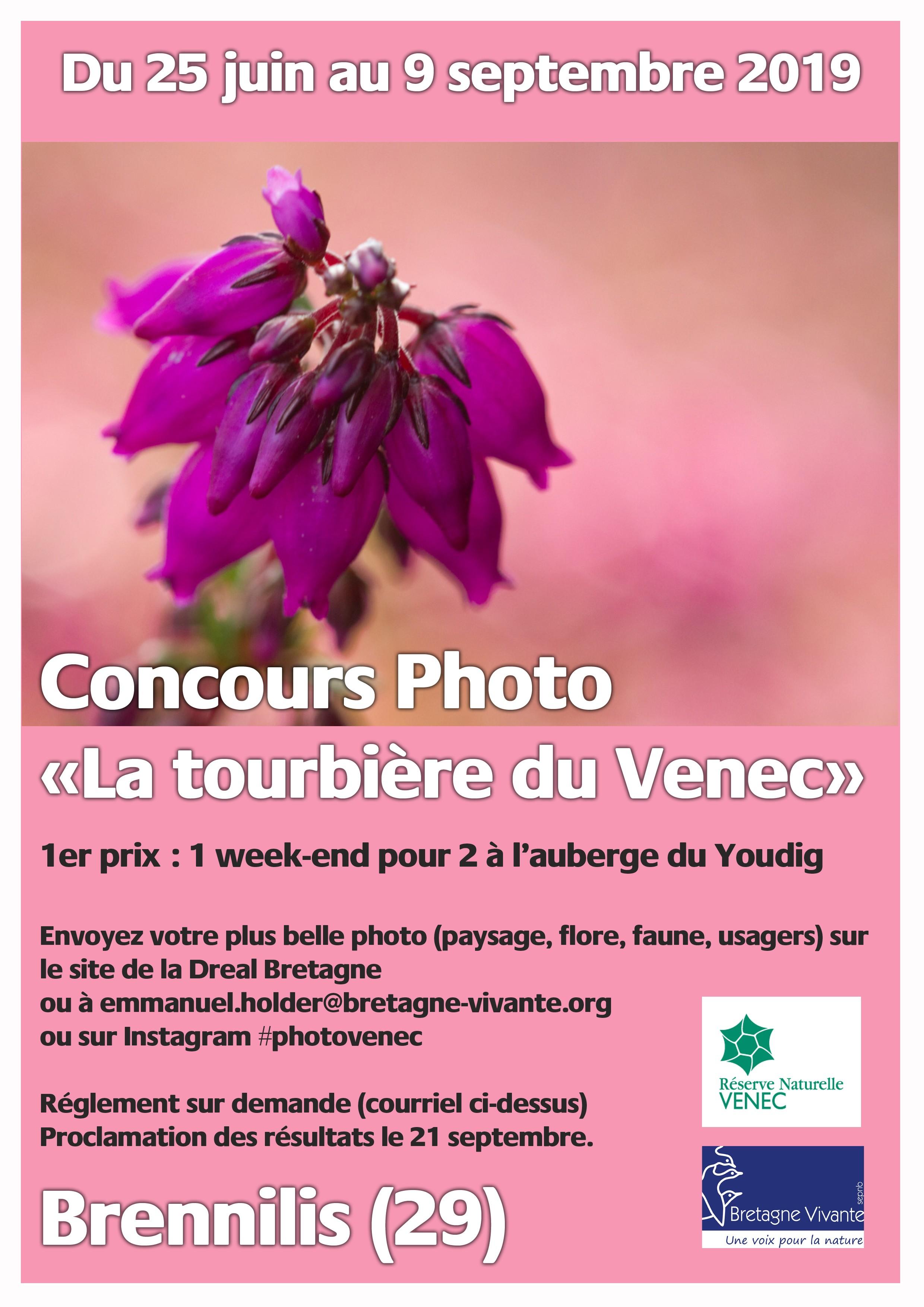 Un concours photo pour la tourbière du Venec à Brennilis (29)