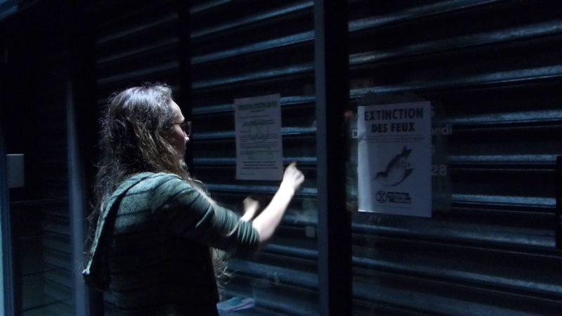 Vendredi 28 juin, opération « Light off » organisée par Extinction Rebellion 22