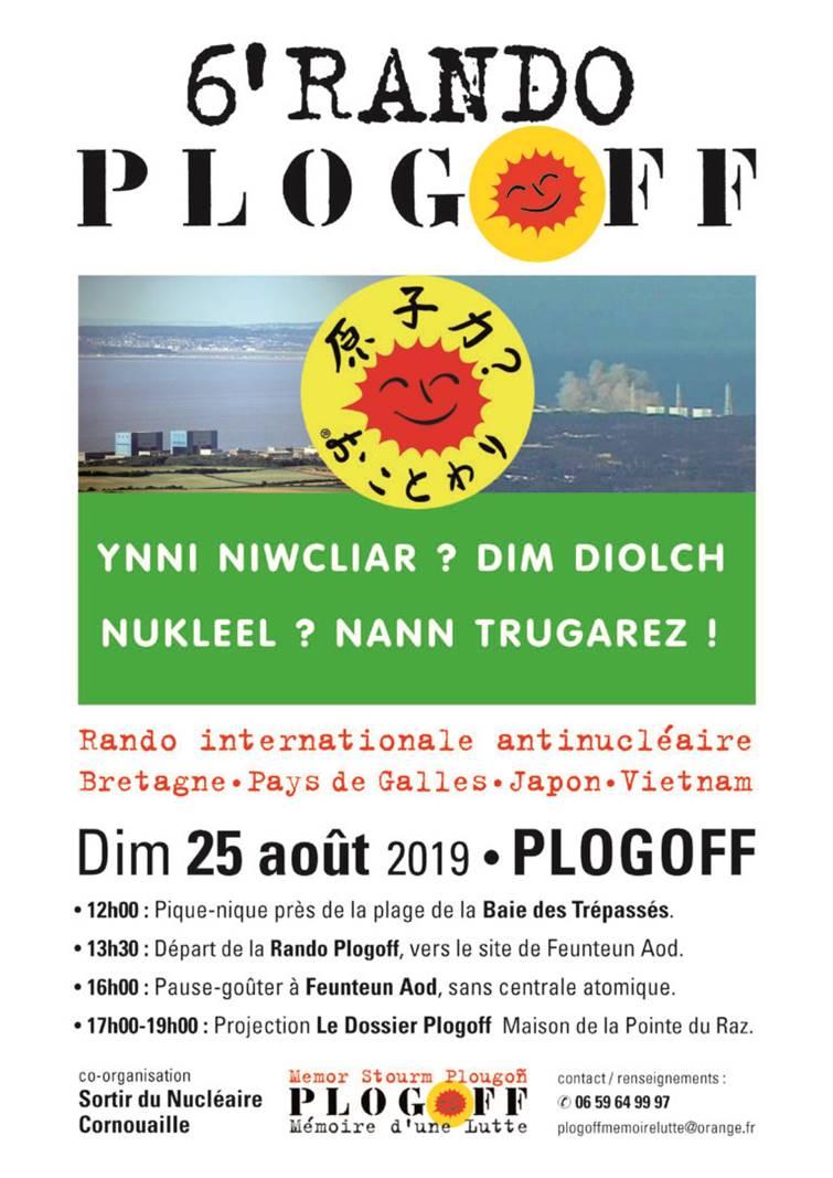 Plogoff (29), Rando internationale antinucléaire
