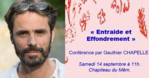 """Rennes (35),  """"Entraide et effondrement"""" - Conférence Gauthier Chapelle @ Le MeM"""