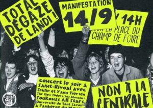 Manifestation contre la centrale à gaz de Landivisiau @ Champ de Foire