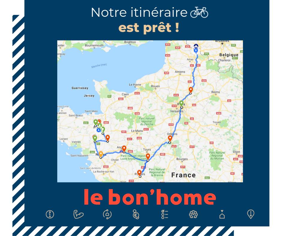 itinéraire bon'home
