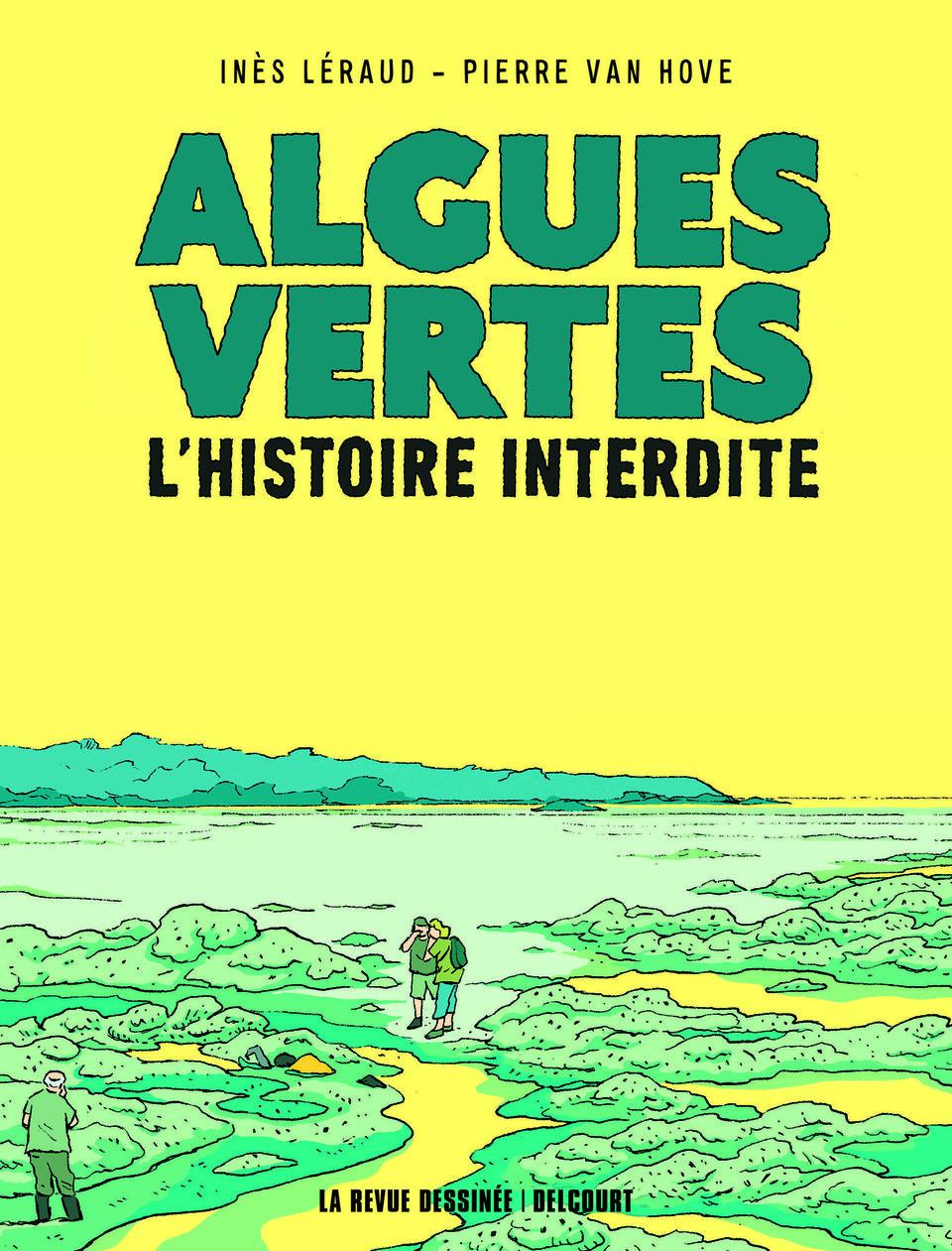Nantes (44), Algues vertes avec Inès Léraud