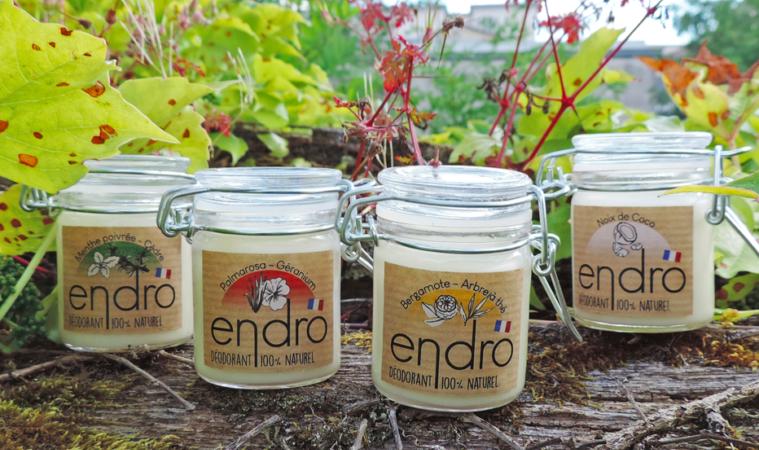 Endro. Le déodorant sain, naturel et zéro déchet