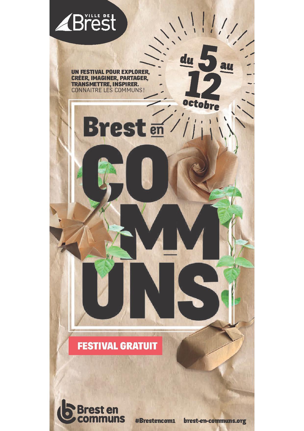 Une semaine pour découvrir « Brest en Communs »