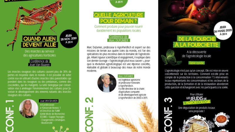 Le Lycée horticole de l'Aulne à Châteaulin en vert et pour tous avec ses Jeudis de l'agroécologie
