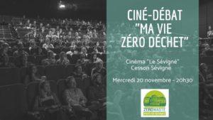 Cesson-Sévigné (35), Ma vie zéro déchets - Ciné/débat @ Cinéma Le Sévigné