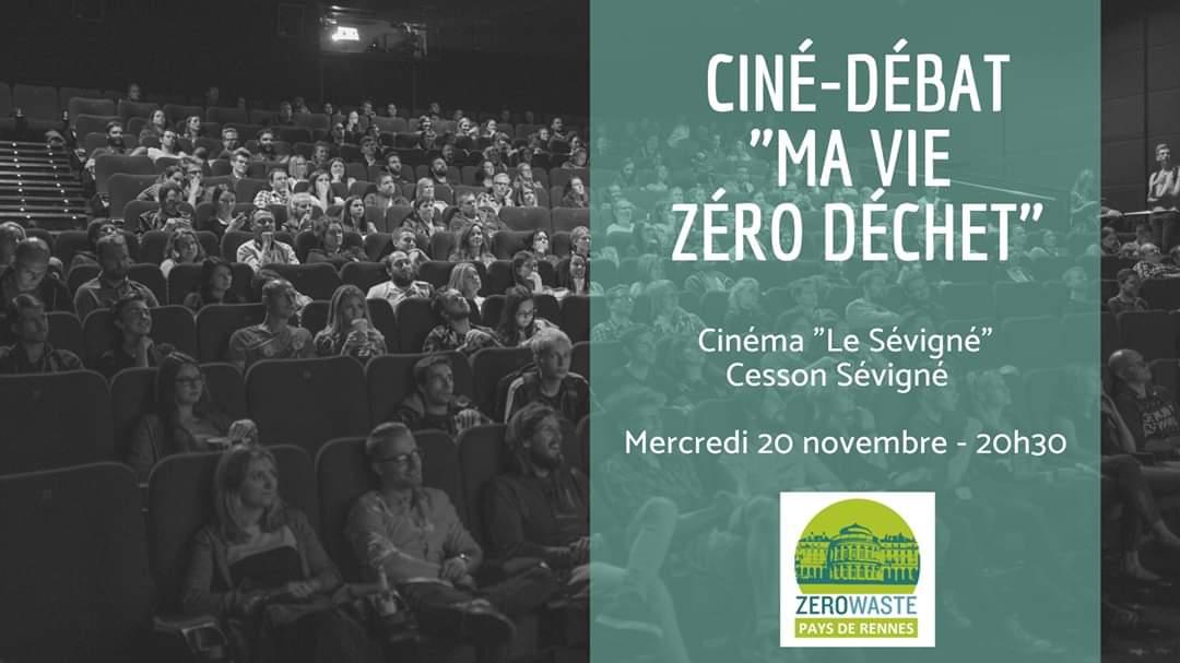 Cesson-Sévigné (35), Ma vie zéro déchets – Ciné/débat