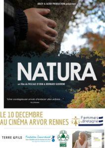 """Rennes (35), """"Natura"""" Ciné-rencontre avec Pascale d'Erm @ Cinéma Arvor"""