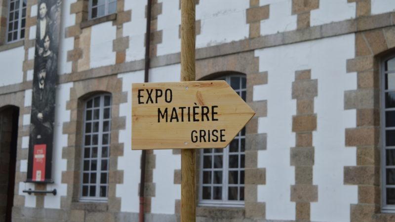 Morlaix. L'exposition Matière Grise à la Manu : Réflexion collective et Réemploi dans l'architecture.