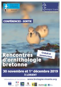 Lorient (56), Rencontres d'ornithologie bretonne @ Salle de conférence Courbet