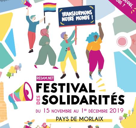 Le Festival des Solidarités en pays de Morlaix dédié aux droits des mineur.e.s