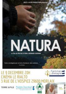 """Morlaix (29), """"Natura"""" Ciné-rencontre avec Pascale d'Erm @ Cinéma Le Rialto"""