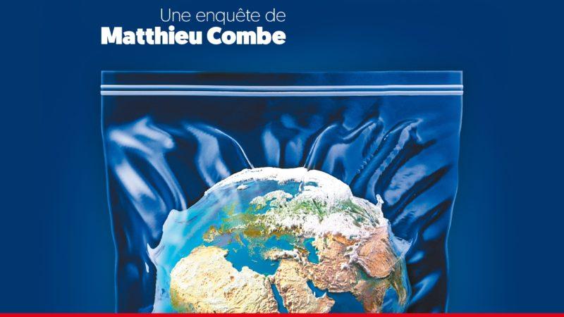 Matthieu Combe. «Nous baignons dans le plastique à tous les stades de notre vie»