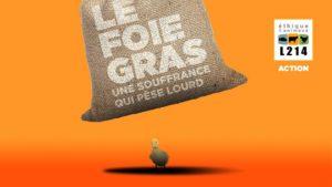 Quimper (29), Le foie gras, une souffrance qui pèse lourd @ Esplanade François Mitterrand