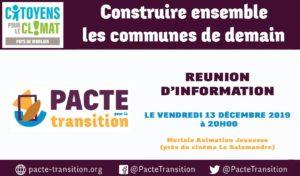 """Morlaix (29), """"Pacte pour la Transition"""" - Réunion d'information @ Morlaix Animation Jeunesse (MAJ)"""