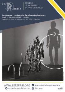 Morlaix (29), Le réemploi dans les arts plastiques - conférence @ La Perm' de La Manu