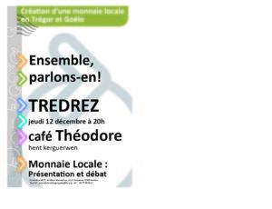 Tredrez-Locquémeau (22), Une Monnaie Locale en Trégor et Goëlo @ Café Théodore